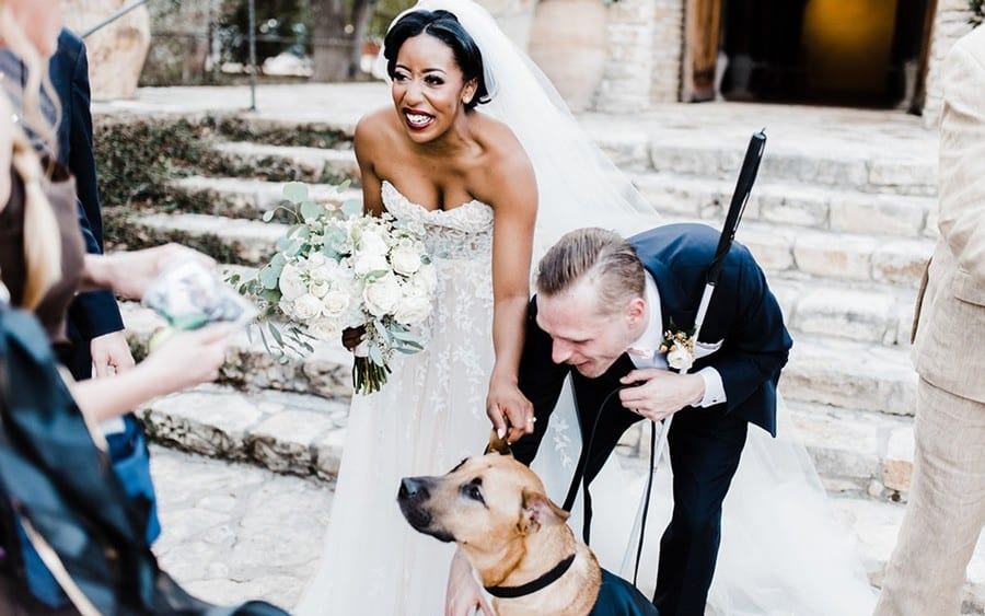 Wedding Day Dog Attendant | Game Time Dog Services